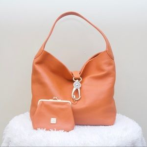 Dooney and Bourke Florentine Bag & Coin Pouch